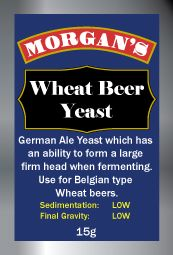 Morgan's Wheat Beer Yeast