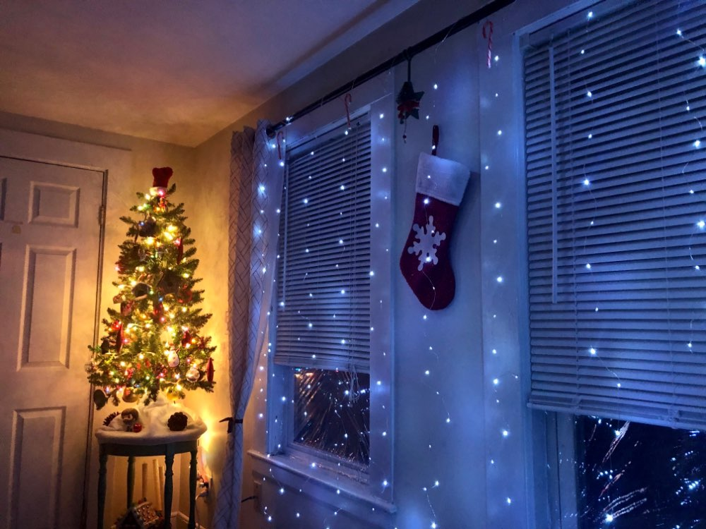 LED Fairy Lights Garland Curtain Lamp