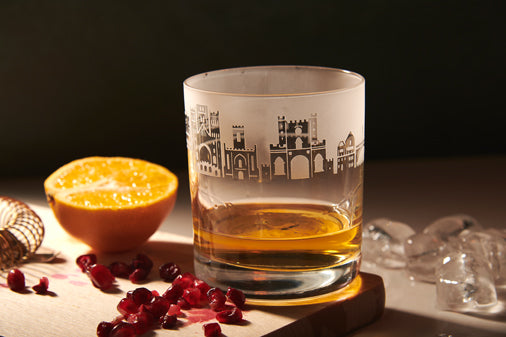 Durham Whisky Tumbler by MehaArt