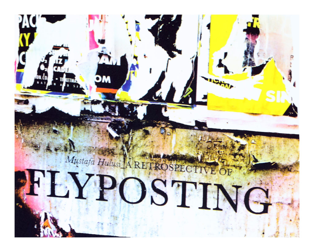 Flyposting by Robin Ross