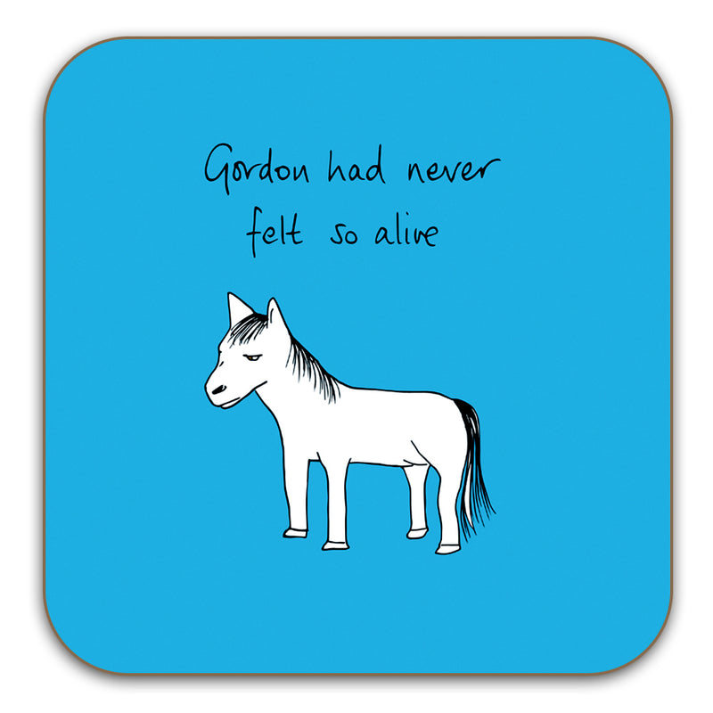 Funny Horse Coaster - Gordon had never felt so alive