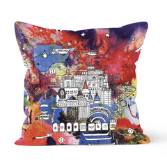 Vegas & The Grand Canyon cushion - colour