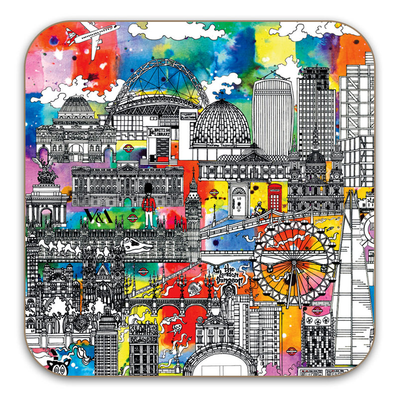 London Colour Coaster - Set of 2