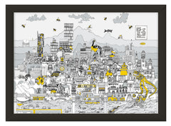 Manchester Skyline Music Edition | MehaArt