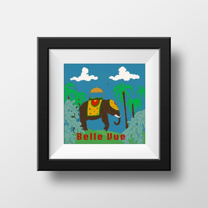 Belle Vue Zoo - Matt Print