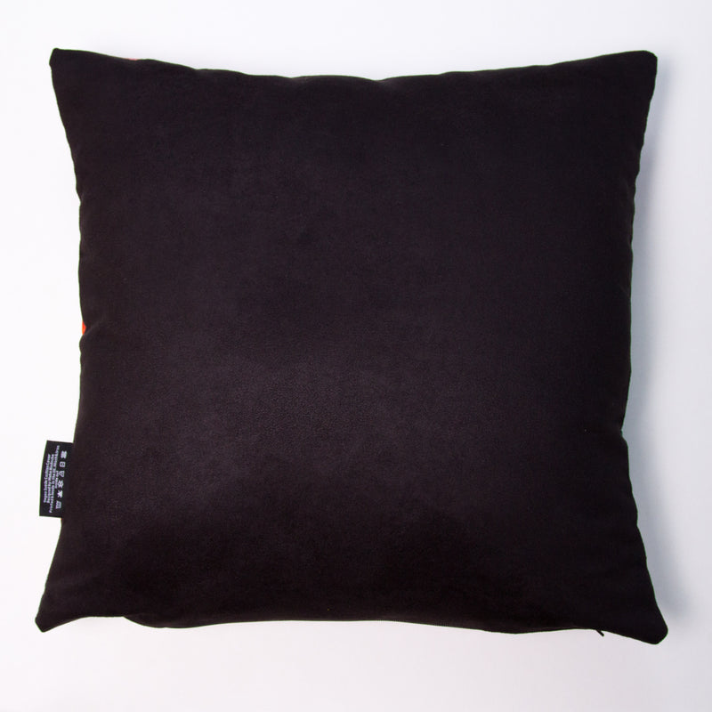 Manchester Skyline in Black & White - Soft and Snuggly Cushion