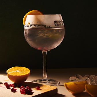 Durham Skyline Gin Glass