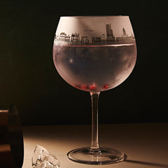 Leeds Skyline - 2nds Gin Glass