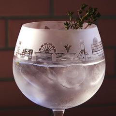 Liverpool - 2nds Gin Glass