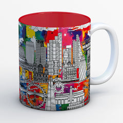 London Skyline Mugs - COLOUR