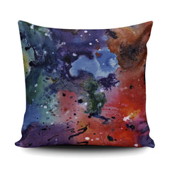 Thud, Watercolour and Ink Painting - Soft and Snuggly Cushion