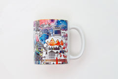 Newcastle Skyline Mugs - Colour