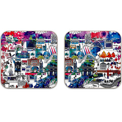 Newcastle Colour Coaster - Set of 2