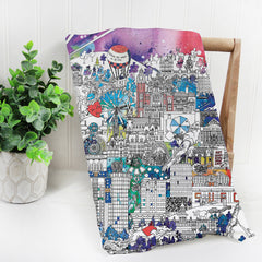 Sheffield in Colour Tea Towel
