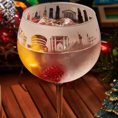 New York Gin Glass 2