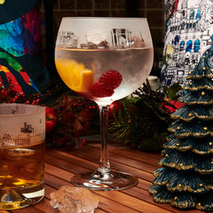 New York Gin Glass 1