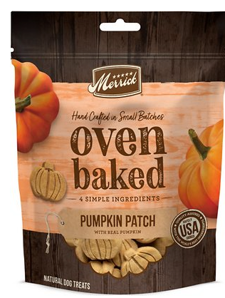 Merrick Oven Baked Pumpkin Treat