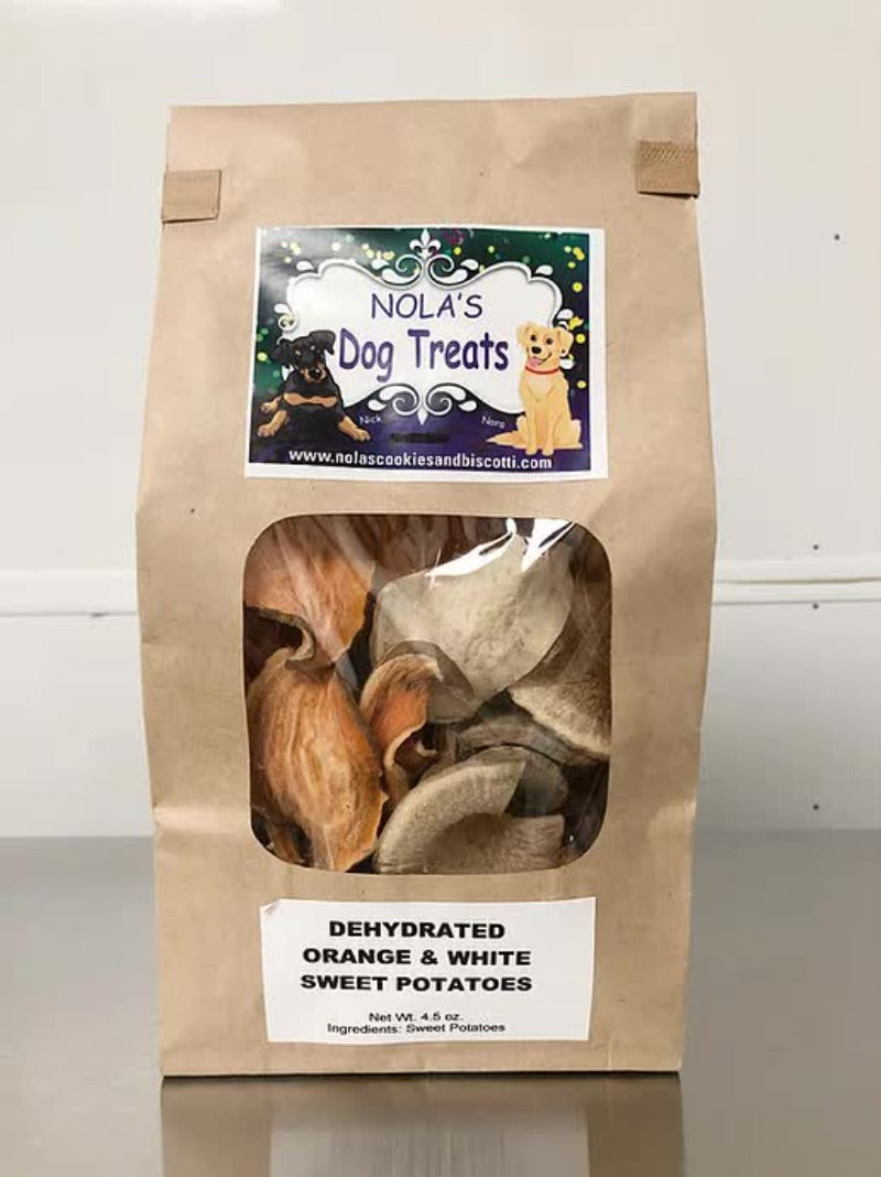 Nola's Dehydrated Sweet Potato Treats