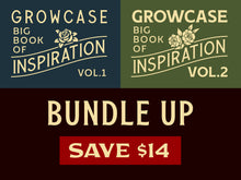 Load image into Gallery viewer, Growcase Big Book Bundle (Vol.1 & 2)