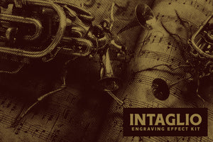 Intaglio - Engraving Effect Kit (Photoshop)