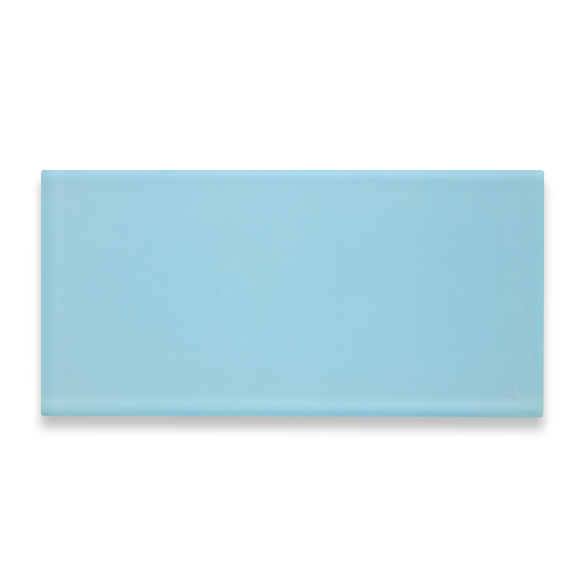 "Beach Tile 4"" x 8"" Glass Tile - Ice"