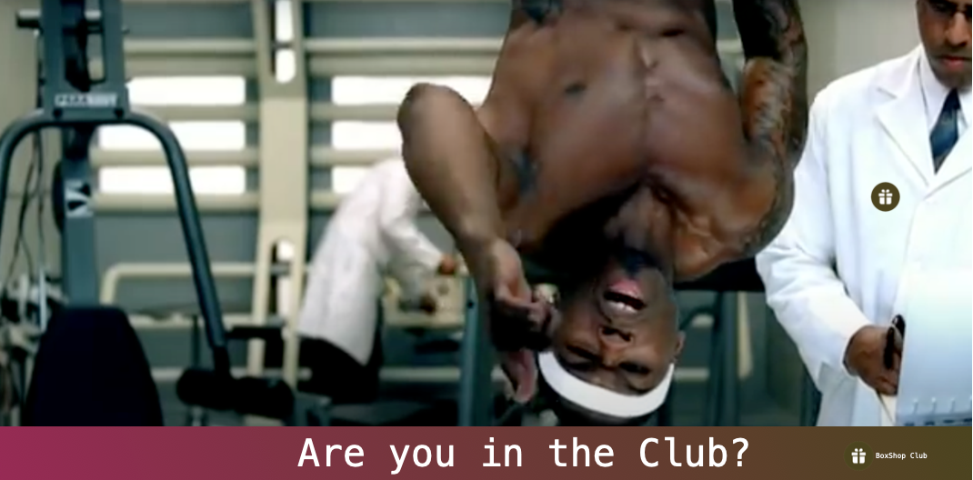 Are you in the club banner