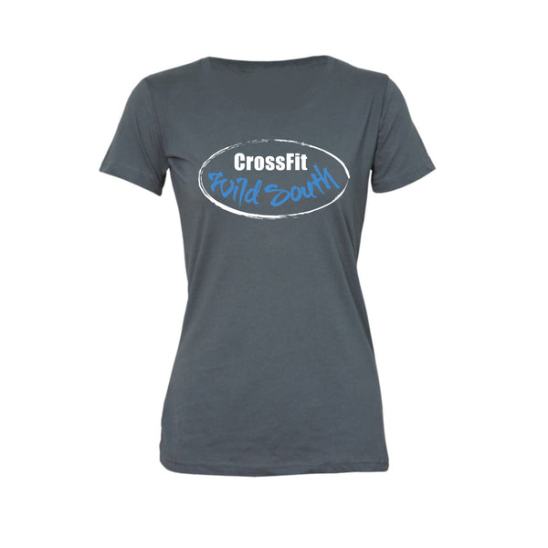 Womens Classic - CrossFit Wild South 100 Word Tee / 3 colour options / End of Line Stock