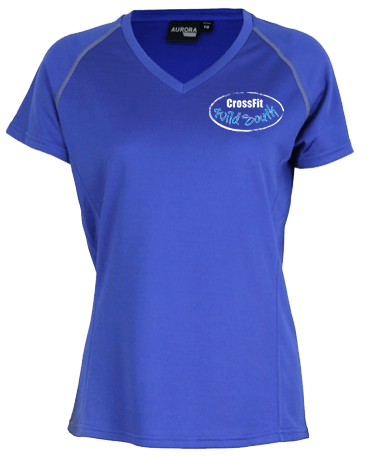 Performance Tee Womens / Coloured Front Logo