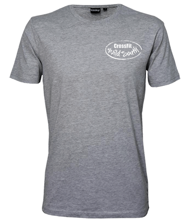 Outline Tee – Mens / White Front Logo