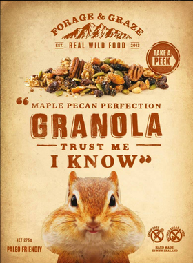Maple Pecan Perfection Granola