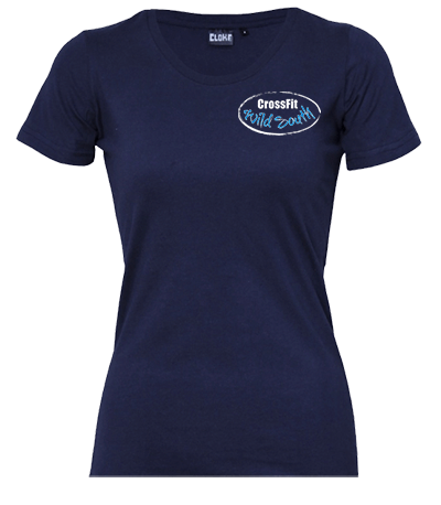 Silhouette Tee - Womens / Coloured Front Logo