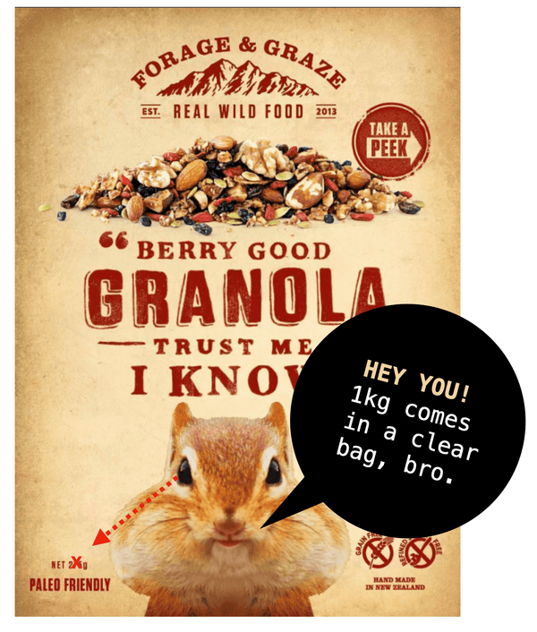 Berry Good Granola