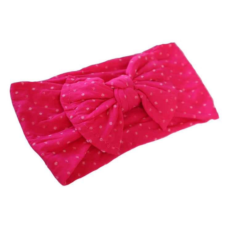 Strawberry Polka Dot Headband
