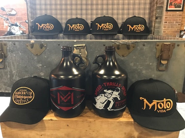 MotoVida Spills and Thrills Growler
