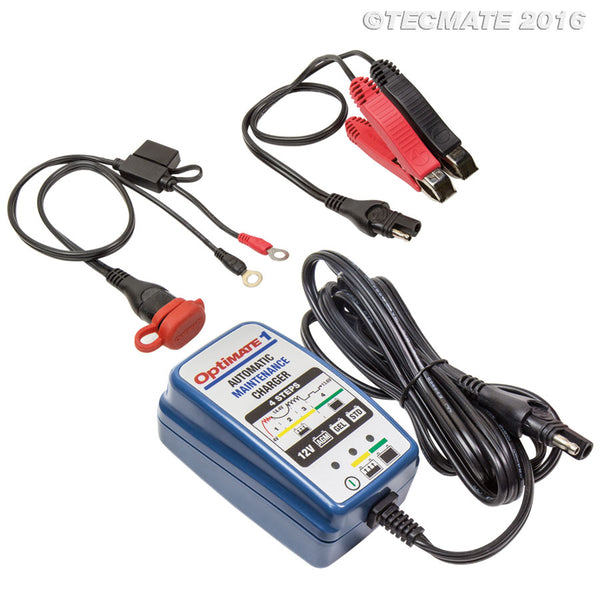 Optimate 1 Battery Charger - Maintainer