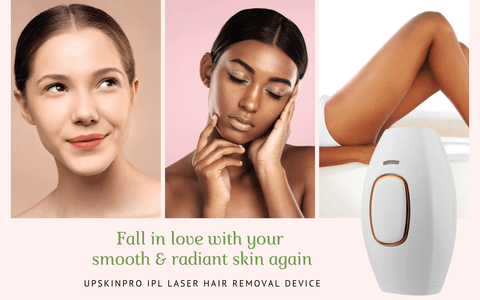 UpSkinPro IPL Laser Hair Removal Device At home