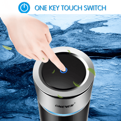 CAR AIR PURIFIER_EASY TO OPERATE ONE TOUCH BUTTON