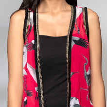 Load image into Gallery viewer, Pink Flamingo Shrug