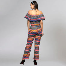 Load image into Gallery viewer, Multicoloured Aztec Jumpsuit