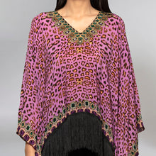 Load image into Gallery viewer, Mauve Animal Print Top