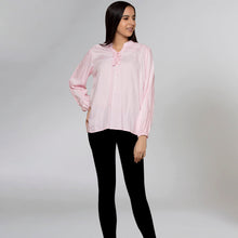 Load image into Gallery viewer, Pink Blouson Top
