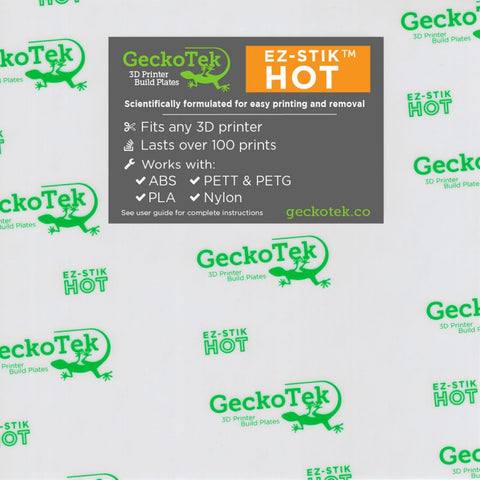 Geckotek EZ-Stick Hot surface 200mm x 210mm (small)