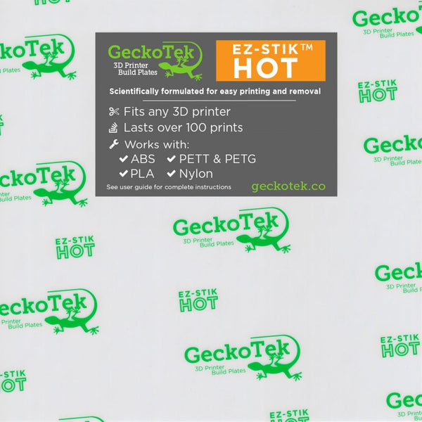 Geckotek EZ-Stick Hot surface 160mm x 247mm