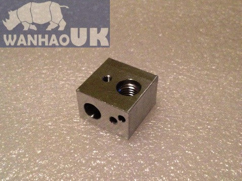 i3/i3 PLUS/D4 Mk10 Small hot end nozzle block mount