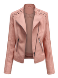 Slim Fashion Plain Plus size Jacket