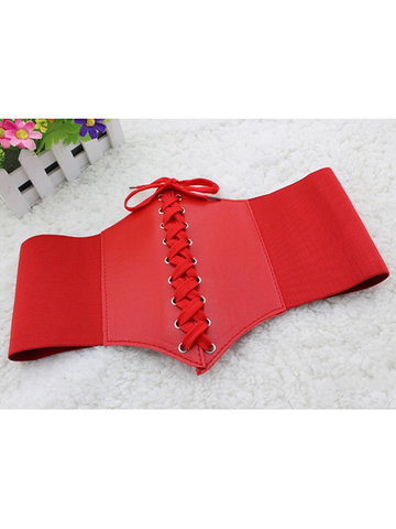 Elastic Band Decoration Girdle
