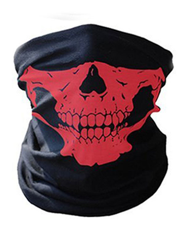 Multifunctional Cycling Warmth Skull Mask