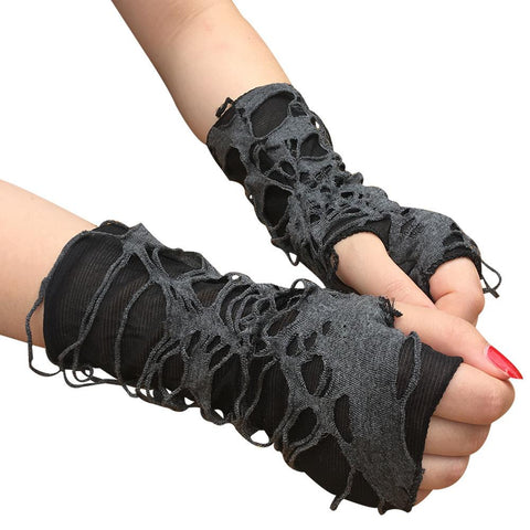 Punk Dark Gloves