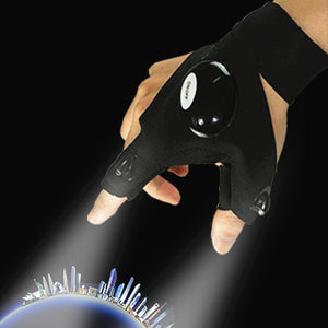 Spartose Outdoors LED FLashlight Gloves 2020!