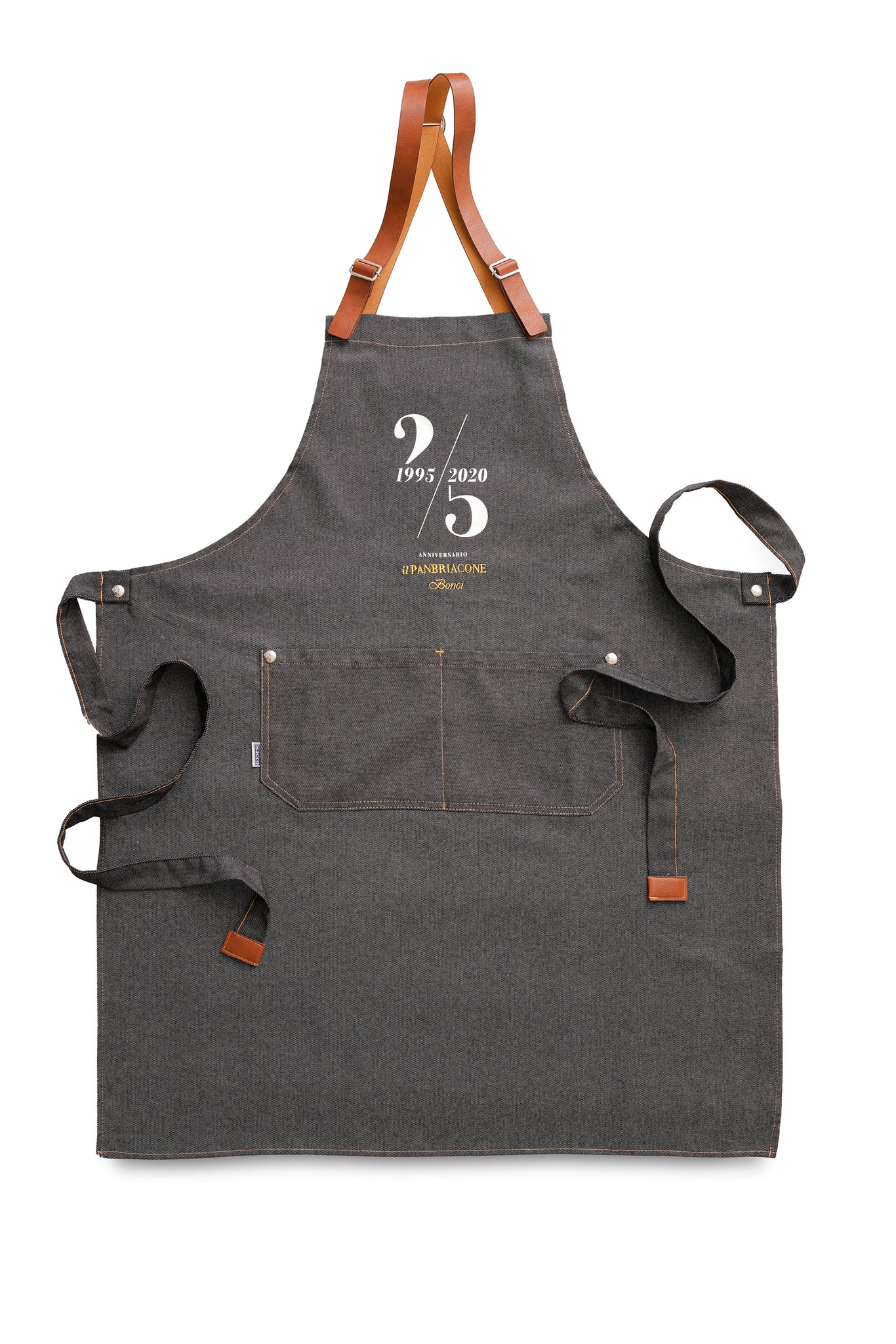 Embroidered Fabric Apron
